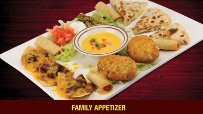 The Los Cucos family appetizer. Photo courtesy of Los Cucos.