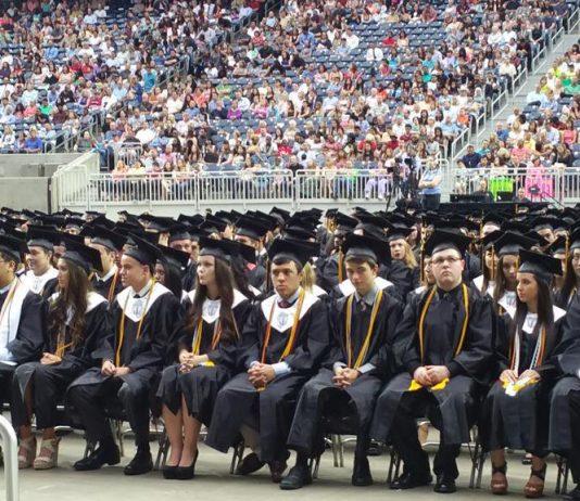 Klein Oak's graduation ceremony