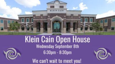 Klein cain open house
