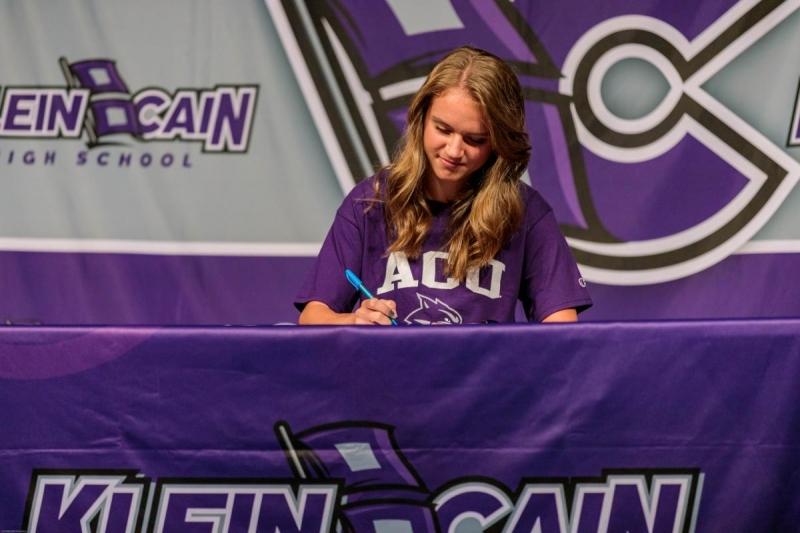 Sofia Pezirtzoglou signed to Abilene Christian University for soccer. Photo by: Jacob Elbert